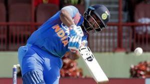 File image of India cricketer Rishabh Pant.(AP)
