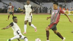 File image of Mohun Bagan in action in Durand Cup.(Samir Jana/HT Photo)