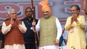 Shah aims for two-third majority in Haryana assembly polls