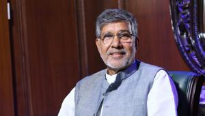 Noble laureate Kailash Satyarthi has called for a UN convention to address the issue of digital child sexual abuse and trafficking.(HT File Photo)