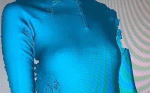 Body odour? This bacteria-embedded bodysuit may help.(Rosie Broadhead/Instagram)