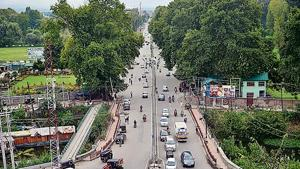 Restrictions on movement were eased in some areas of Srinagar, Kashmir, on Saturday.(PTI Photo)