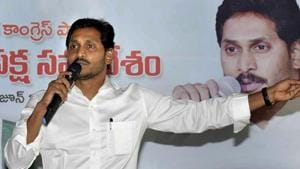 Andhra Pradesh chief minister YS Jagan Mohan Reddy's government issued 'pre-closure' notice to Navayuga stating that its contract was terminated, following a recommendation made by an eight-member expert committee.(PTI PHOTO.)
