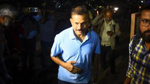 File image of Lalchand Rajput.(Hindustan Times via Getty Images)