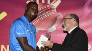 Jason Holder named West Indies Test Player of the Year