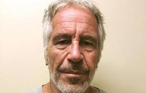 Jeffrey Epstein was accused of trafficking girls as young as 14 for sex. He denied the charges but faced up to 45 years in jail if found guilty.(AP Photo)