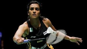 Sindhu outsmarted Chinese Taipei's Pai Yu Po 21-14 21-14 in a 43-minute contest.(REUTERS)