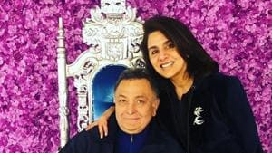 Rishi Kapoor and Neetu Kapoor have been stationed in New York for his cancer treatment since September last year.(Instagram)