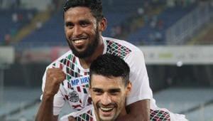 Mohun Bagan defeated Gokulam Kerala to reach the Durand Cup final.(Twitter)