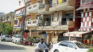 The department has sought details of PG accommodations and hostels being run in various sectors of the city.(HT image)