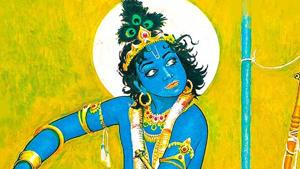 Krishna is the god of love, tenderness and compassion. Hindu mythology portrays him as a prankster, a gentle lover, a universal supreme being and child-like God.(Instagram /vrindavan.krishna)