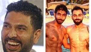 Yuvraj Singh trolls Jasprit Bumrah for flaunting six-pack abs ahead of 1st India vs West Indies
