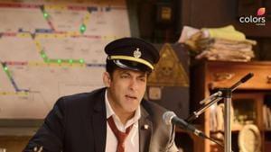 Salman Khan turns station master in the new promo for Bigg Boss 13.