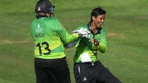 Deepti Sharma in action for Western Storm in Kia Super League.(Twitter)
