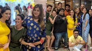 Kapil Sharma and wife Ginni Chatrath recently attended a friend's baby shower.