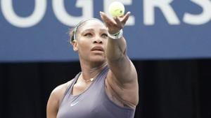 Serena Williams in action.(USA Today)