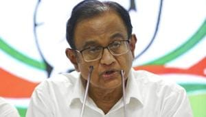P Chidambaram has been arrested in a corruption case(AP)