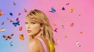 """""""This album is very much a celebration of love, in all its complexity, coziness, and chaos,"""" Swift tweeted.(Instagram/Taylor Swift)"""