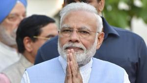 Prime Minister Narendra Modi on Saturday greeted the nation on the auspicious occasion of Janmashtami, a Hindu festival celebrating the birth of Lord Krishna.(PTI File Photo)