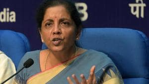 The automobile sector has shown a positive response to the announcements made by Union finance minister Nirmala Sitharaman to prop up the slowing economy.(Mohd Zakir/HT PHOTO)