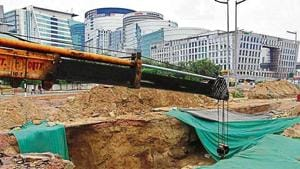 Caved-in Gurugram underpass to reopen by September 15