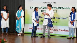 Swayam Siddha jointly with Indian Oil Corporation organised an 'Environment Awareness Event on Blue.