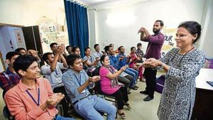 Hearing impaired, learning deprived