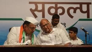 NCP to start using saffron flags ahead of assembly polls
