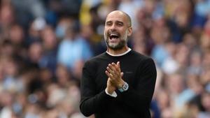 Manchester City manager Pep Guardiola(Action Images via Reuters)