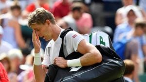 South Africa's Kevin Anderson looks dejected(REUTERS)
