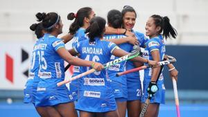 File image of India Women's Hockey team.(Hockey India)