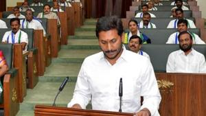 Jagan Mohan Reddy's government has ordered its vigilance department to probe alleged financial irregularities in the Polavaram major irrigation project.(ANI)