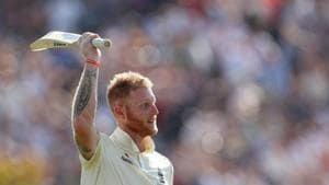 England's Ben Stokes celebrates winning the test(Action Images via Reuters)