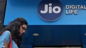 Reliance Jio is India's youngest and only profitable telecom operator .(Reuters Photo)