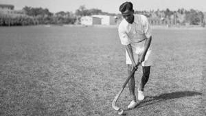 Indian hockey legend Dhyan Chand.(Corbis)