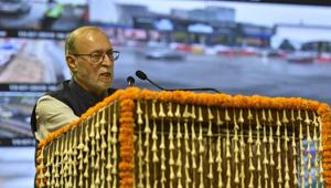 Baijal directed the Delhi Development Authority (DDA) to carry out harmonised greening of the area, development of water bodies and restoration of the heritage structure.(Burhaan Kinu/HT PHOTO)