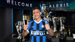 Alexis will now ply his trade in the Serie A.(@Inter_en)