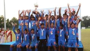 India lift SAFF U-15 title.(India Football/Twitter)