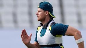 File image of Australia cricketer Steve Smith in action during a training session.(Action Images via Reuters)