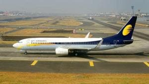 Synergy Group Corp is willing to take a majority stake in Jet Airways.(Abhijit Bhatlekar/Mint photo)