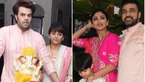 The Ganesh Utsav continues in Bollywood.(Varinder Chawla)