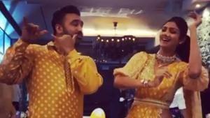 Shilpa Shetty danced with husband Raj Kundra as they welcomed Lord Ganesha on Monday