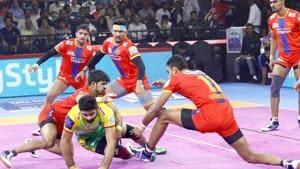 UP Yoddha beat Patna Pirates 41-29.(Pro Kabaddi League)