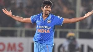 Bumrah not just generates high pace, but demands respect from the batsmen for the lengths and lines he hits, the late swing both ways and the nasty, well-disguised bouncer in his armoury.(PTI)