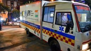 Of the 15 railway stations in Navi Mumbai, only Vashi, Nerul and Panvel have ambulances.(PTI)