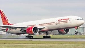 Air India incurred a loss of Rs 4,000 crore in 2018-19 and is laden with a debt of Rs 55,000 crore.(FILE PHOTO.)