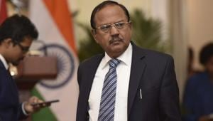The Prime Minister's Office has defined the work areas for National Security Advisor Ajit Doval(Vipin Kumar/HT PHOTO)