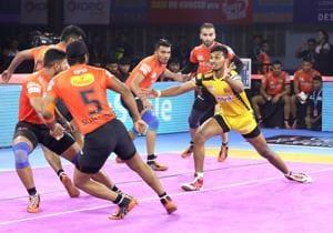 U Mumba defeated Telugu Titans in PKL 2019.(PKL)