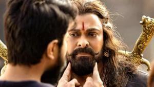 Chiranjeevi plays a warrior in Sye Raa Narasimha Reddy.