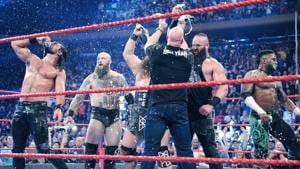 Stone Cold Steve Austin enjoys a beer bash.(Source: WWE)